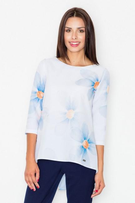 CM2547 Kolorowa bluzka z...