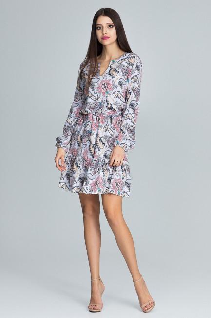 CM3663 Zwiewna sukienka...