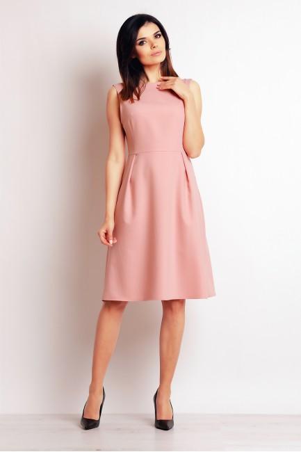 CM2393 Biurowa sukienka bez...