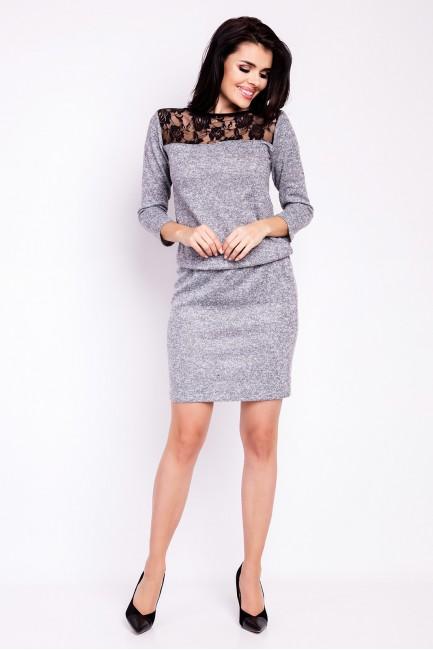 CM2817 Ołówkowa sukienka z...