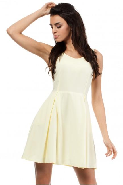 CM0280 Sukienka kontrafałda...