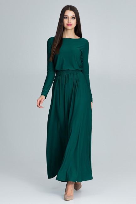 CM3670 Prosta sukienka maxi...