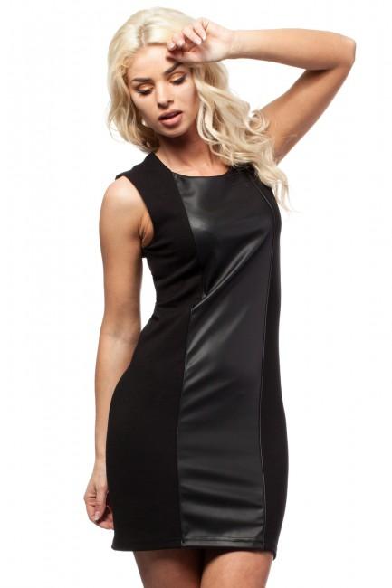 CM1690 Skórzana sukienka...