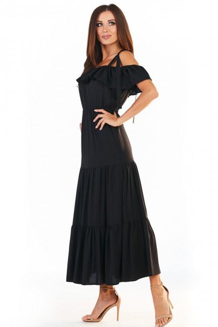 CM5389 Trapezowa sukienka...