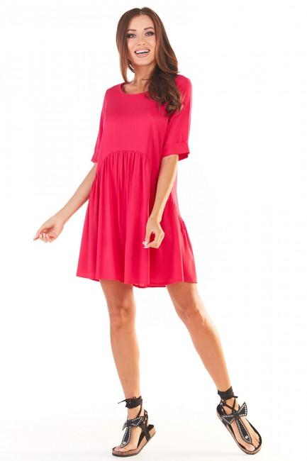 CM5391 Swobodna sukienka...