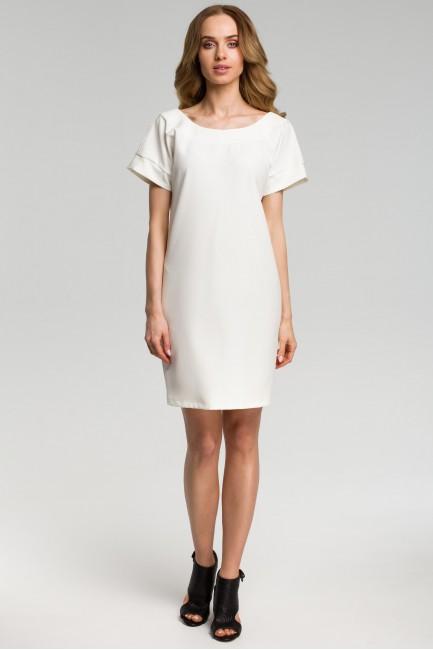 CM3640 Sukienka z dekoltem...