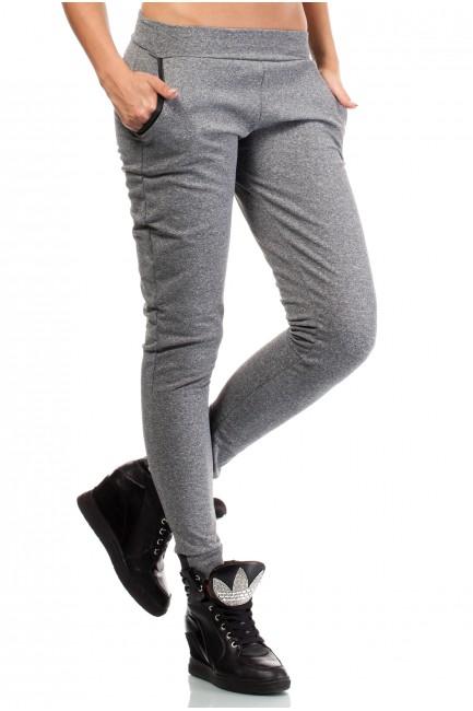 CM1028 Dresowe spodnie ze...