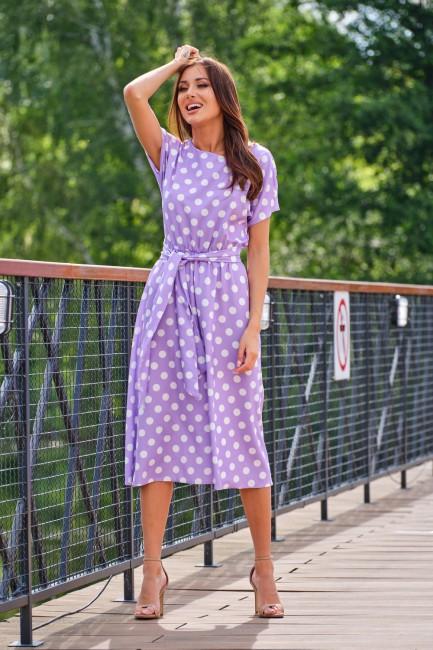 CM5392 Trapezowa sukienka...