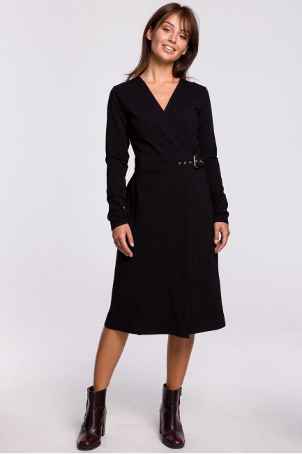 CM5395 Kopertowa sukienka z...
