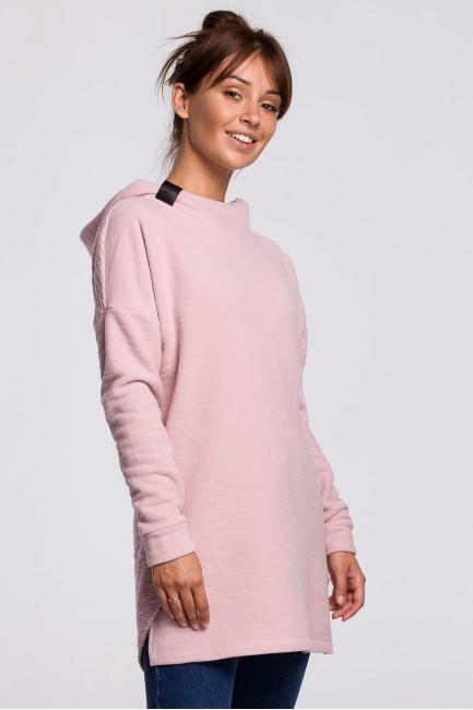 CM5410 Asymetryczna bluza z...