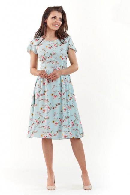 CM3726 Sukienka midi w...