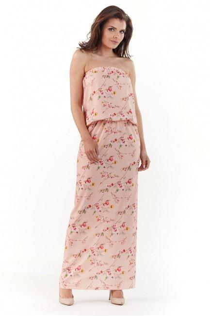 CM3727 Sukienka maxi bez...