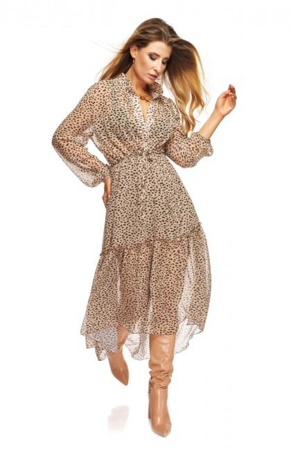 CM5475 Szyfonowa sukienka...