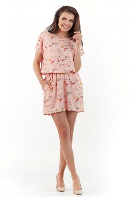 CM3739 Subtelna sukienka z...