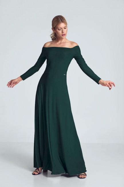 CM5483 Zmysłowa sukienka z...
