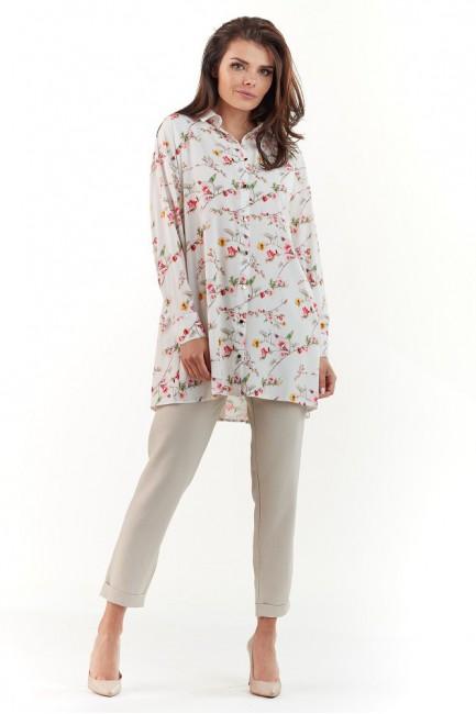 CM3741 Długa koszula z...