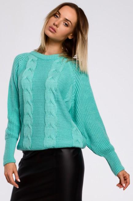CM5502 Sweter z szerokimi...
