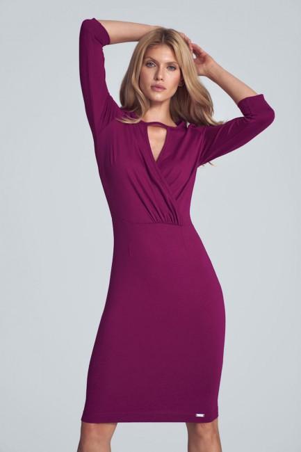 CM5506 Biurowa sukienka z...