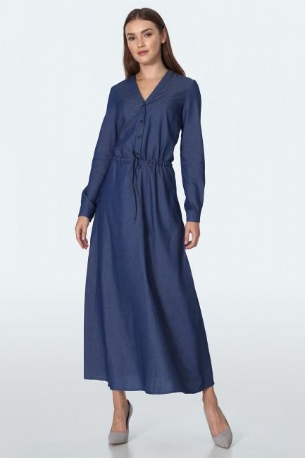 CM5514 Jeansowa sukienka z...