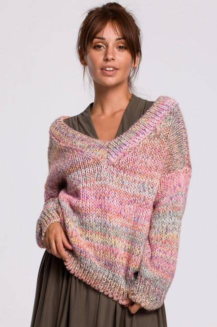 CM5525 Wielokolorowy sweter...