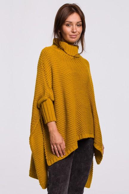 CM5526 Sweter ponczo z...