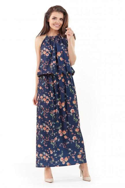 CM3761 Sukienka maxi w...