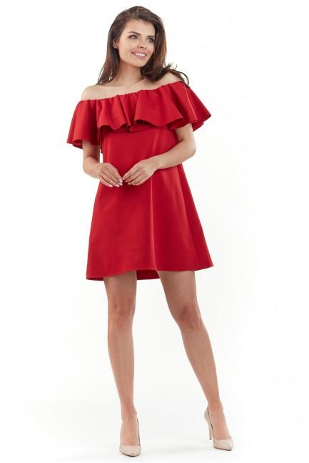 CM3762 Sukienka mini z...