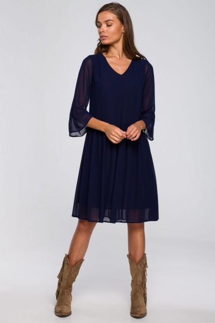 CM5580 Sukienka szyfonowa...