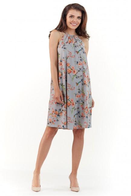 CM3765 Zwiewna sukienka w...