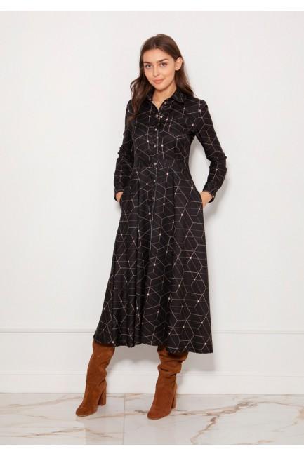 CM5620 Koszulowa sukienka...