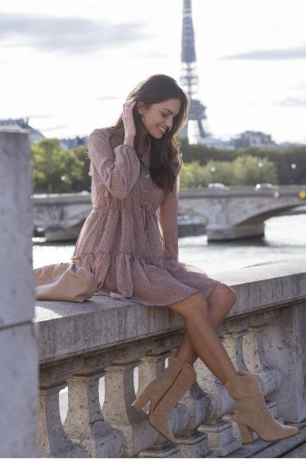 CM5628 Szyfonowa sukienka...