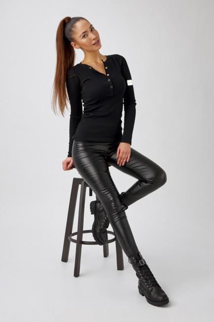 CM5633 Spodnie z eko-skóry...