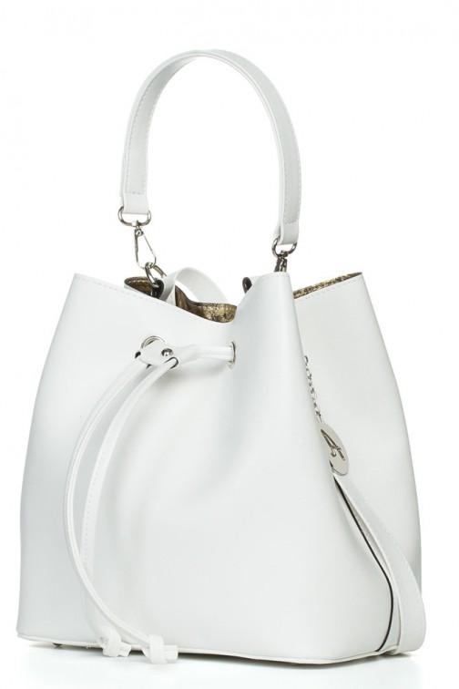 CM3832 Biurowa torba na ramię i do ręki - biała