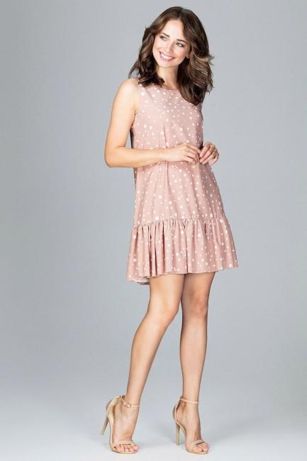 CM3784 Zwiewna sukienka z...