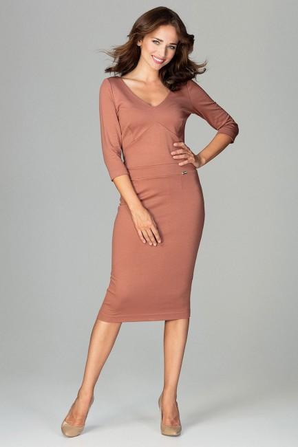 CM3790 Dopasowana sukienka...