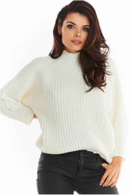 CM5680 Sweter z golfem o...
