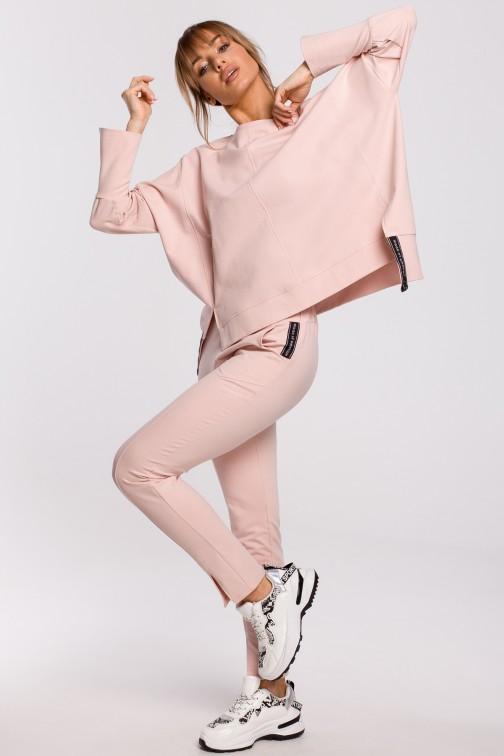 CM5200 Spodnie z rozporkami - różowe OUTLET