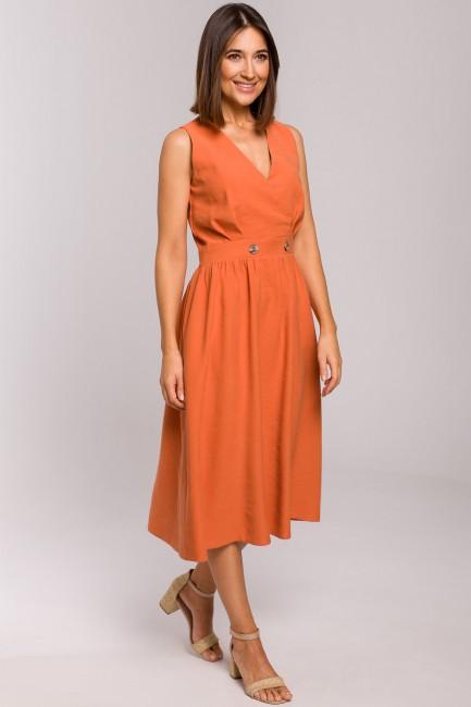 CM5325 Sukienka bez rękawów...