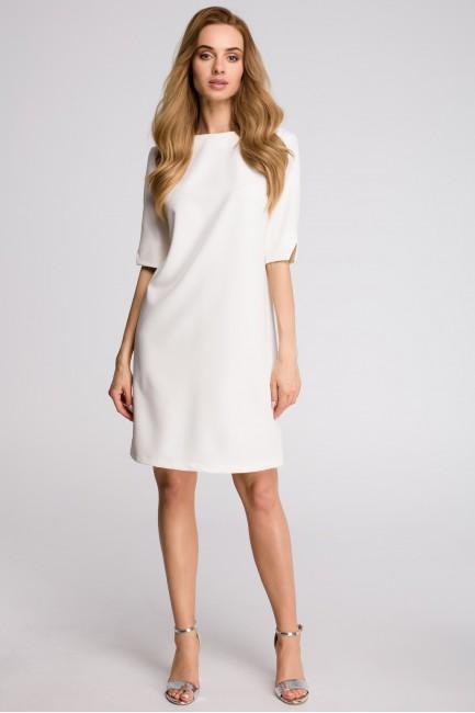 CM3629 Sukienka pudełkowa z...