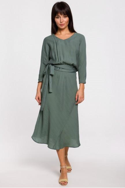 CM5148 Sukienka midi z...