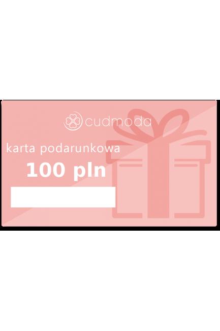Karta podarunkowa - 100 zł