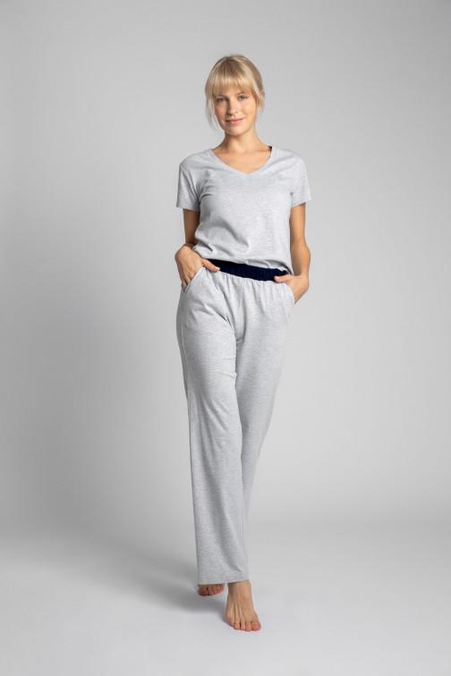 CM5710 Bawełniane spodnie do spania - popielate