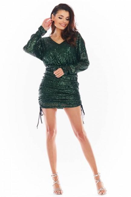 CM5738 Sukienka mini z...