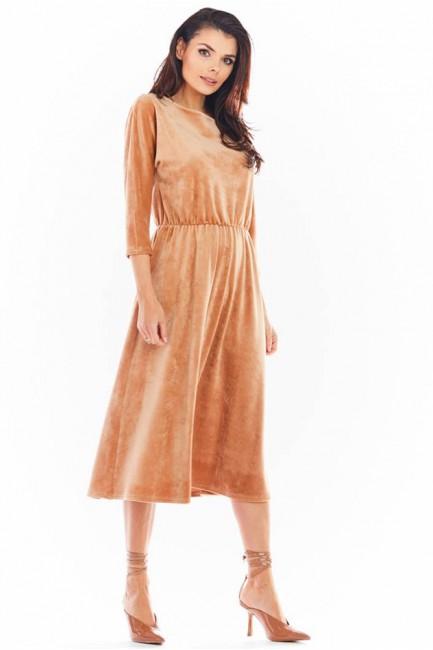 CM5747 Welurowa sukienka...