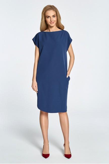 CM3457 Prosta sukienka z...