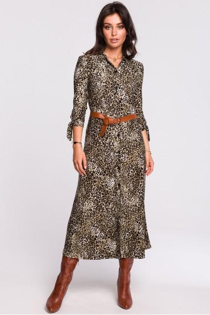 CM4610 Sukienka midi z...