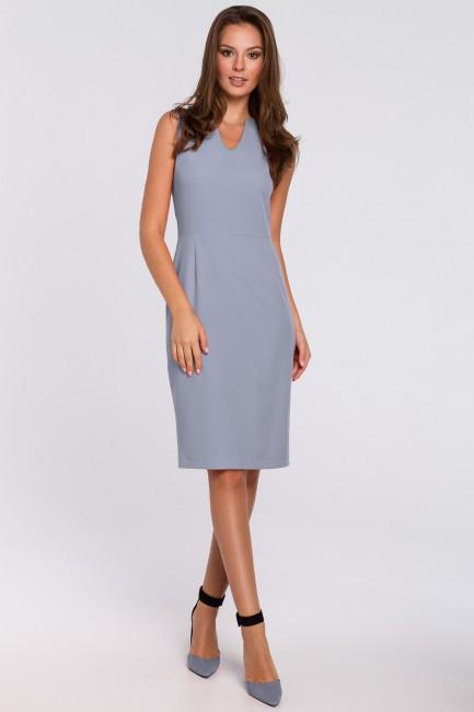 CM4943 Sukienka z dekoltem...