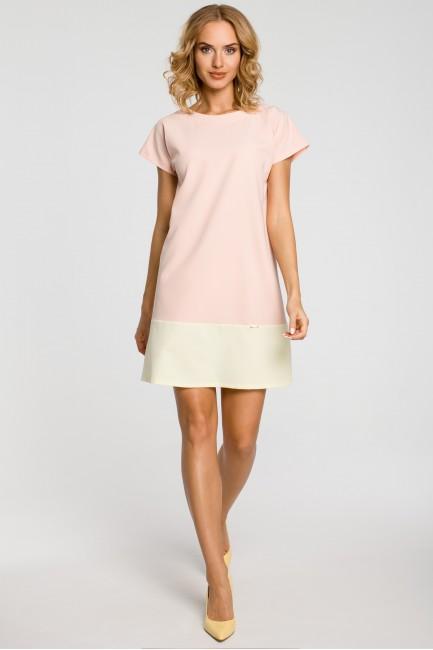 CM0818 Sukienka mini tunika...