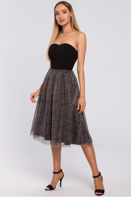 CM4992 Sukienka gorsetowa z...