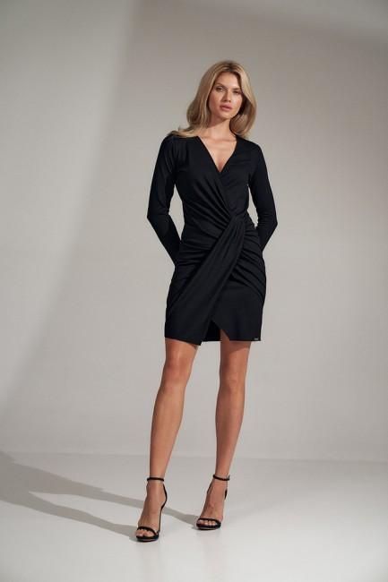 CM5802 Kopertowa sukienka...